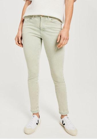 OPUS Skinny-fit-Jeans »Elma shadow«, in schöner Washed-Optik kaufen