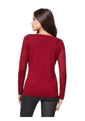 ASHLEY BROOKE by Heine V-Ausschnitt-Pullover »Pullover« kaufen