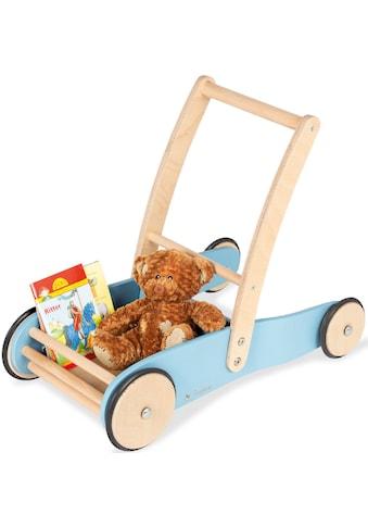 Pinolino® Lauflernwagen »Uli, blau«, aus Holz, Made in Europe kaufen