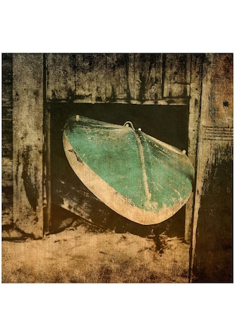 Art & Pleasure Holzbild »Surf break«, Sport kaufen