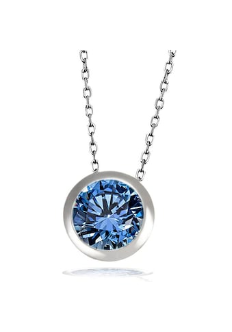 goldmaid Collier, Silber 925 mit blauem Zirkonia kaufen