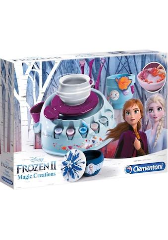 """Clementoni® Kreativset """"Töpferscheibe Frozen 2  -  Magische Kreationen"""" kaufen"""