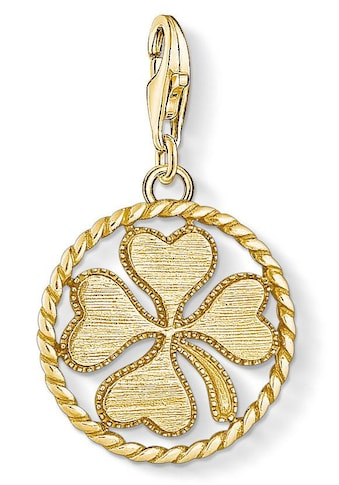 THOMAS SABO Charm-Einhänger »Coin Kleeblatt, 1710-413-39« kaufen