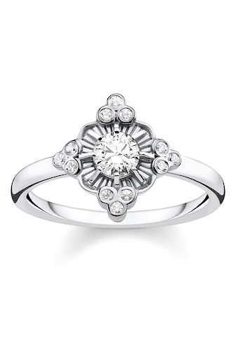 THOMAS SABO Silberring »Royalty weiß, TR2221 - 643 - 14 - 48, 50, 52, 54, 56, 58, 60« kaufen