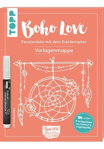 Buch »Boho Love. Fensterdeko mit dem Kreidemarker. Vorlagenmappe / Olya Kamieshkova« kaufen