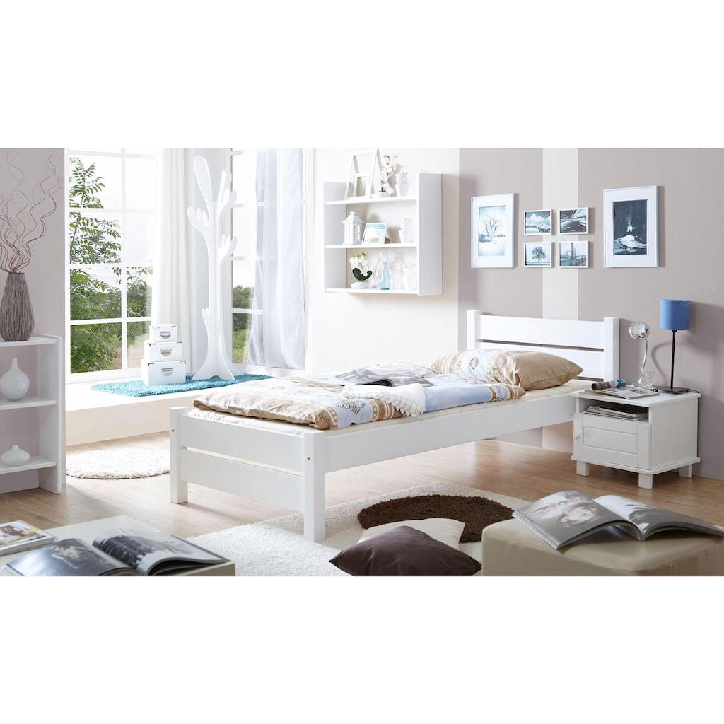 Ticaa Massivholzbett »Bora«