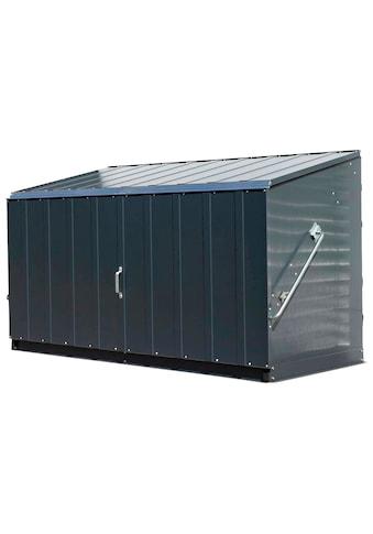 Trimetals Mülltonnenbox »Storeguard«, Fahrradbox, BxTxH: 196x89x113 cm kaufen