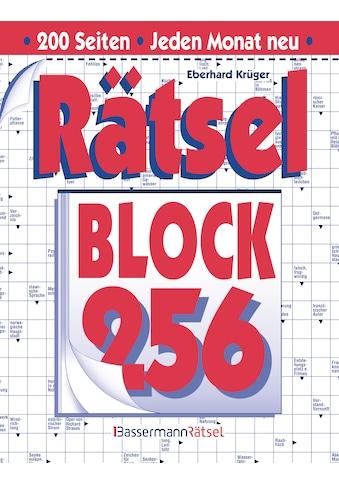 Buch »Rätselblock 256 (5 Exemplare à 2,99 EUR) / Eberhard Krüger« kaufen