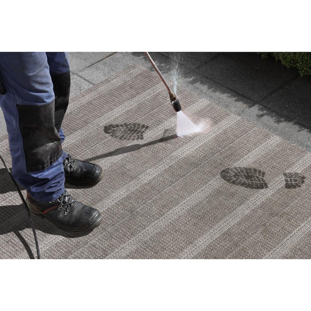 ELLE DECORATION Teppich »Laon«, rechteckig, 8 mm Höhe, In- und Outdoor geeignet, Wohnzimmer