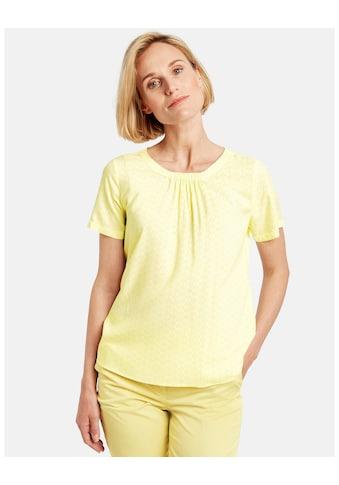 GERRY WEBER Bluse 1/2 Arm »Fein gemusterte 1/2 Arm Bluse« kaufen