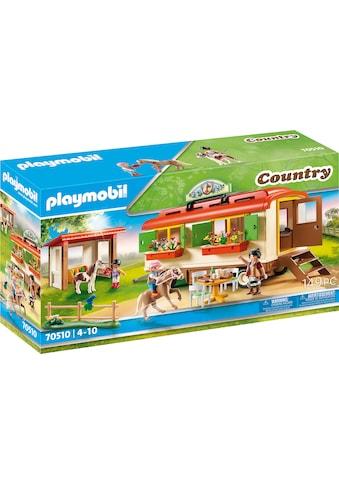Playmobil® Konstruktions-Spielset »Ponycamp-Übernachtungswagen (70510), Country«, Made... kaufen
