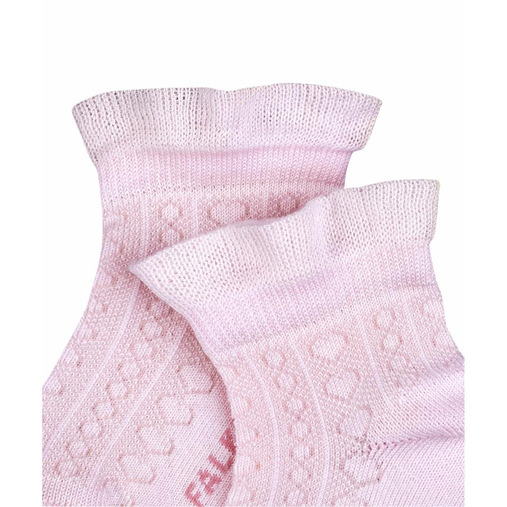 FALKE Socken »Romantic Net«, (1 Paar), mit verstärkten Belastungszonen