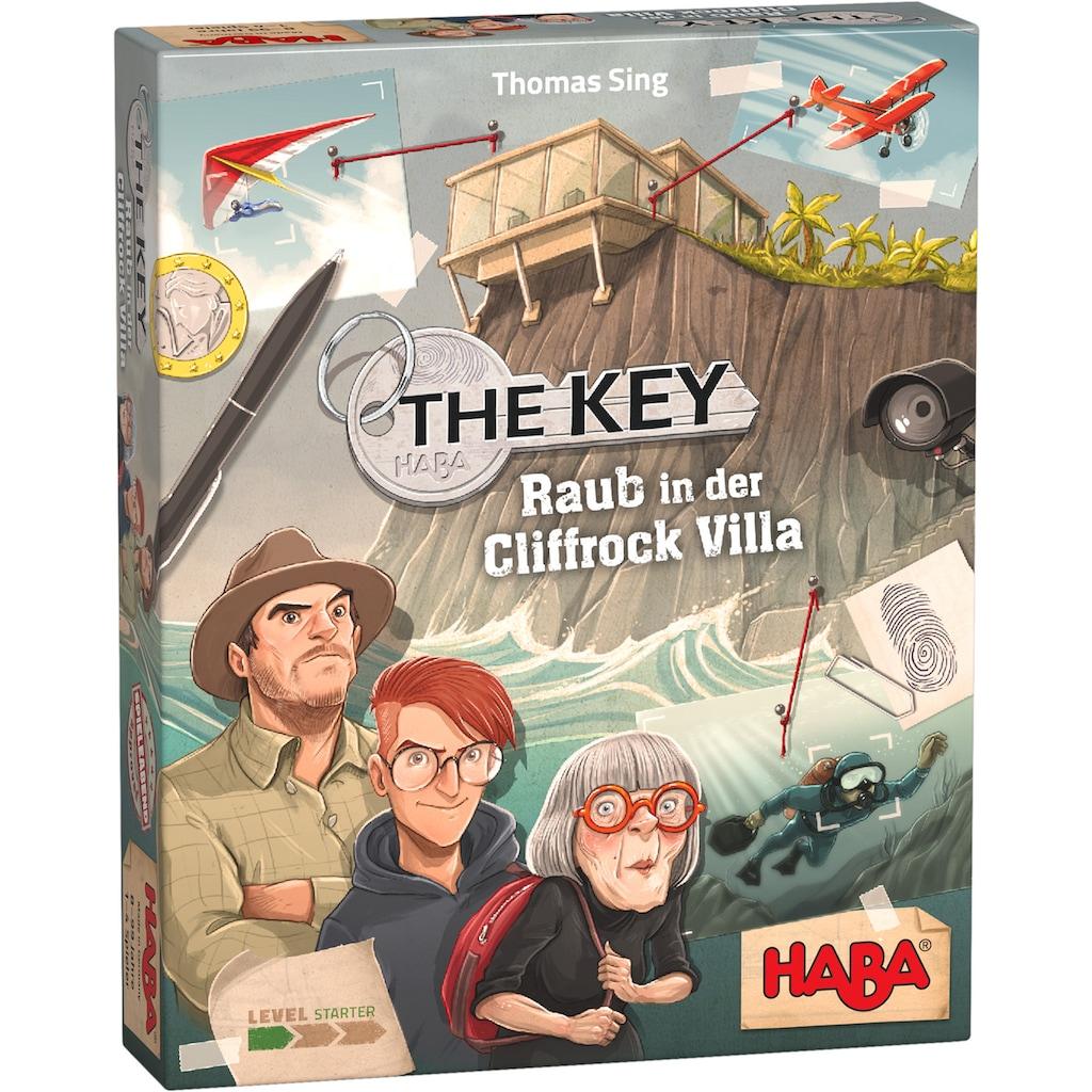 Haba Spiel »The Key – Raub in der Cliffrock Villa«, Made in Germany
