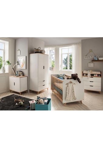 Fantasykids Babyzimmer-Komplettset, (4 St., Bett + Wickelkommode + 2-trg. Schrank +... kaufen