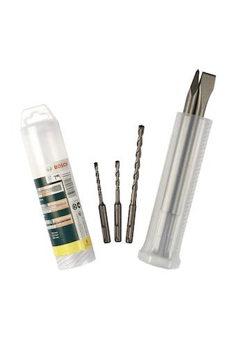 BOSCH Bohr-Meißel-Set »SDS-plus«, (Set, 5 tlg.), Meißel- und Hammerbohrer mit SDS plus kaufen