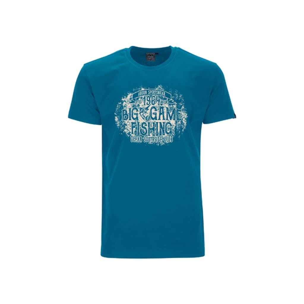 AHORN SPORTSWEAR T-Shirt mit modernem Printmotiv