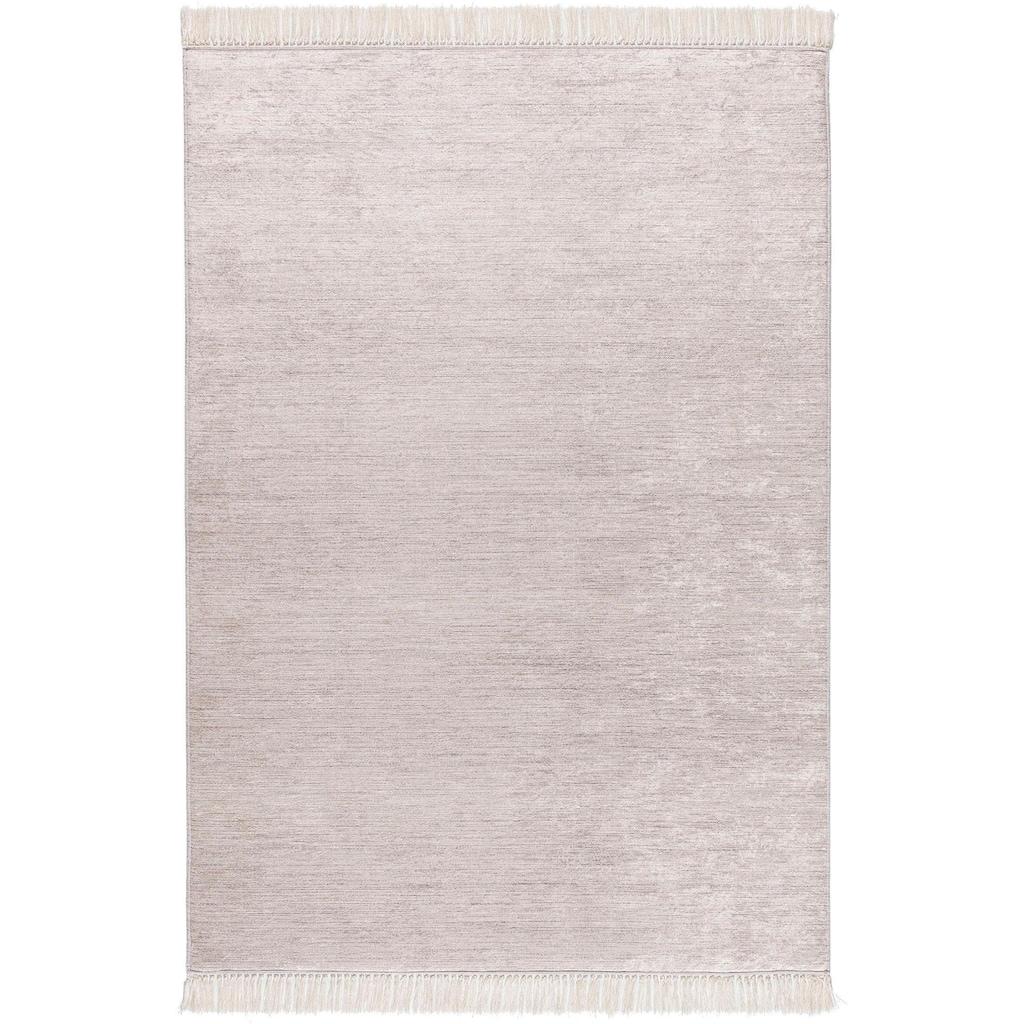 Sehrazat Teppich »Caimas 2975«, rechteckig, 5 mm Höhe, waschbar, weiche Microfaser, Wohnzimmer
