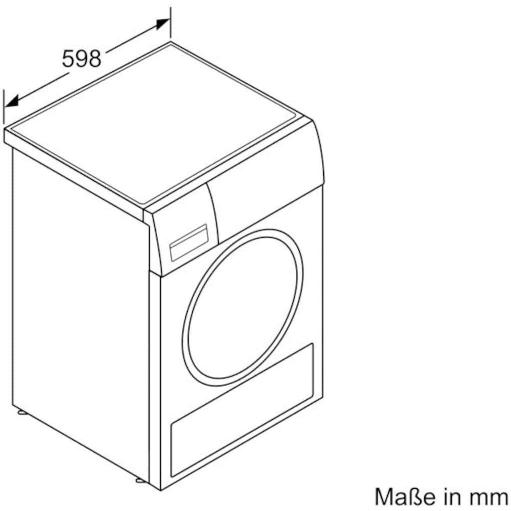 SIEMENS Wärmepumpentrockner »WT43HV00«, iQ300, 7 kg