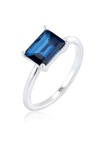 Elli Fingerring »Solitär Kristalle 925 Sterling Silber« kaufen