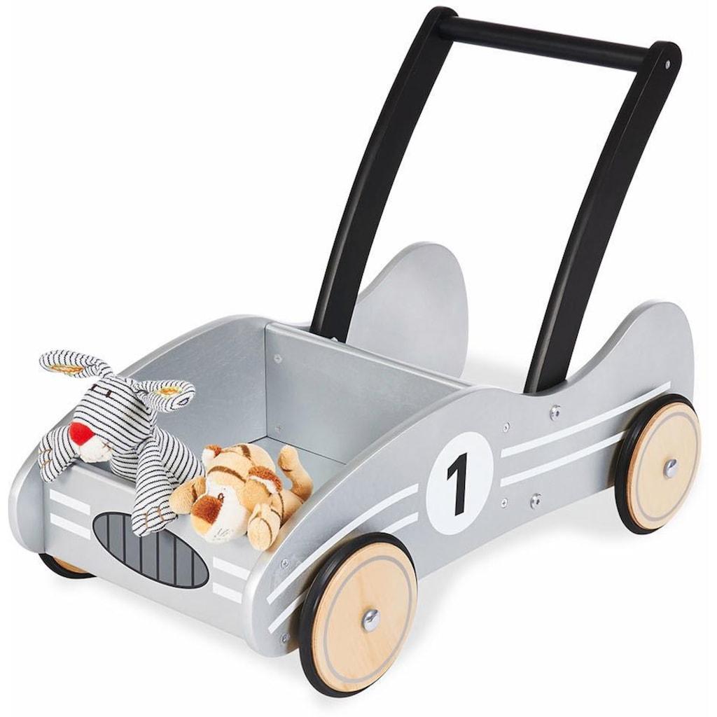 "Pinolino® Lauflernwagen ""Kimi, silbergrau"""