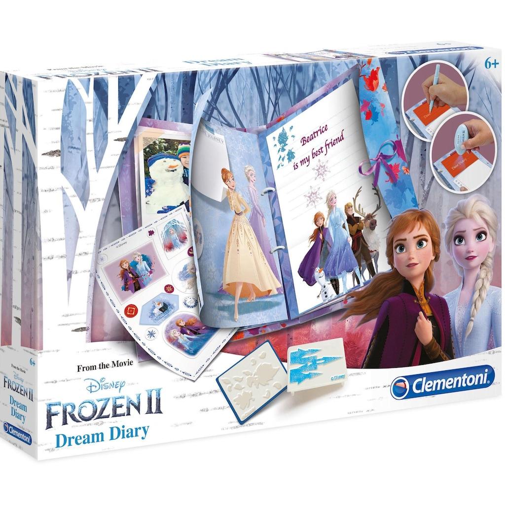 Clementoni® Elektronisches Tagebuch »Disney Frozen 2 - Traum-Tagebuch«