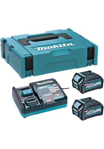 Makita Akku-Set »Power Source Kit Li«, 40V, Ladegerät mit 2 Akkus 2,5Ah im Koffer kaufen