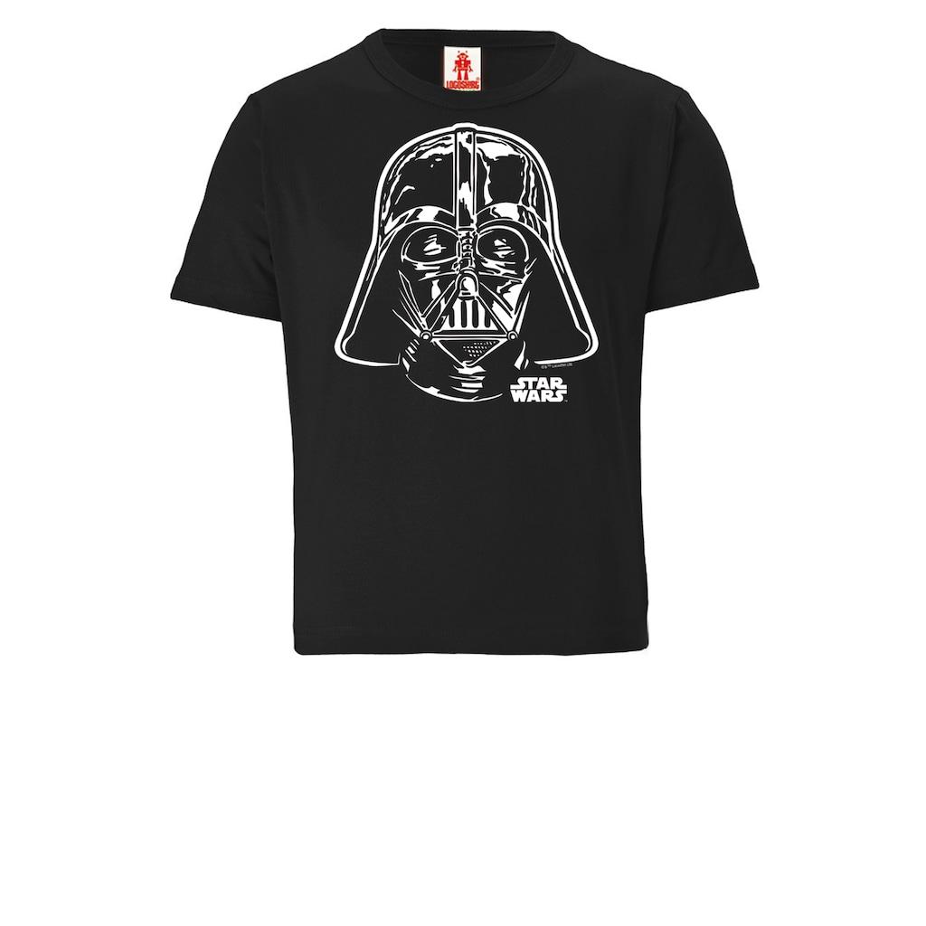 LOGOSHIRT T-Shirt »Darth Vader - Portrait«, mit Darth Vader-Print