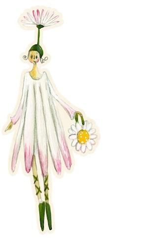 Wall-Art Wandtattoo »Blütenelfe August Gänseblume« kaufen