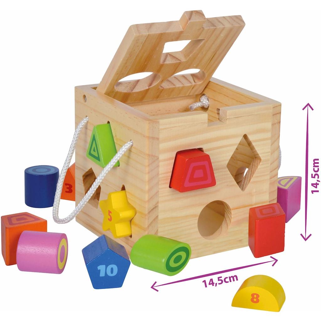 Eichhorn Steckspielzeug, aus Holz