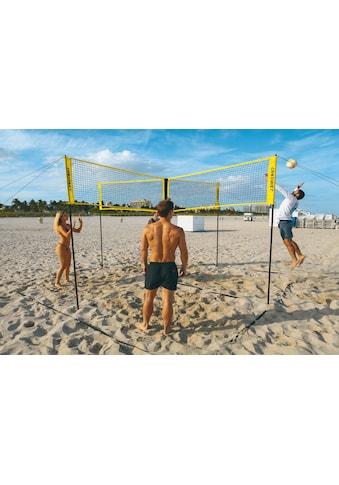 Crossnet distributed by Hammer Volleyballnetz »und Beachballnetz Crossnet«, mit Transporttasche (Rucksack) kaufen