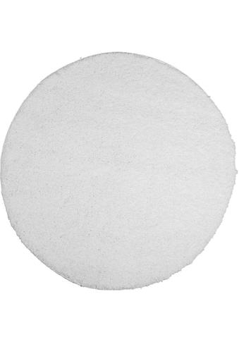 Hochflor - Teppich, »Shaggi uni 500«, Carpet City, rechteckig, Höhe 30 mm, maschinell gewebt kaufen
