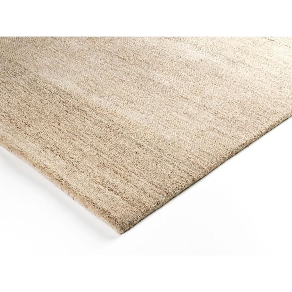 OCI DIE TEPPICHMARKE Teppich »Avantgard Uni«, rechteckig, 9 mm Höhe, handgeknüpft, Wohnzimmer