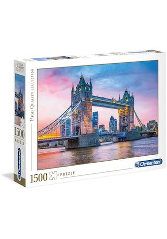 """Clementoni® Puzzle """"Sonnenuntergang über der Tower Bridge"""" kaufen"""