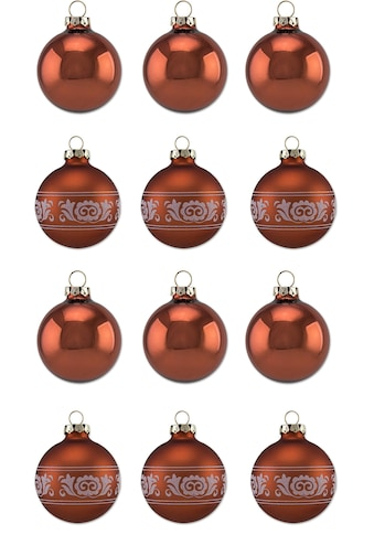"""Thüringer Glasdesign Weihnachtsbaumkugel """"Kupfer Glanz"""" kaufen"""