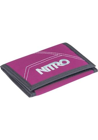 NITRO Geldbörse »Walled, Grateful Pink« kaufen