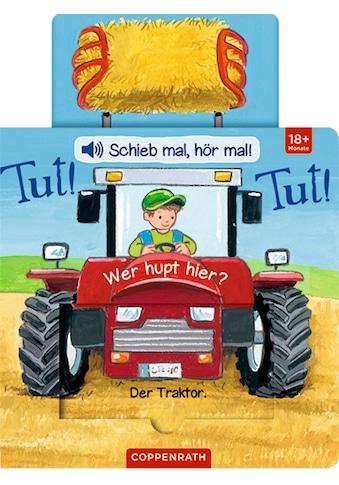 Buch »Schieb mal, hör mal!: Tut! Tut! Wer hupt hier? / Antje Flad« kaufen