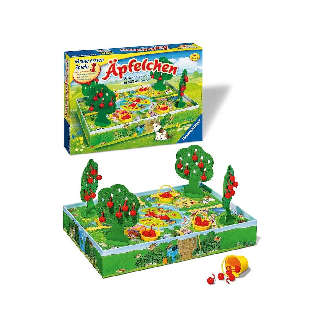 Ravensburger Spiel »Pflückt die Äpfel und füllt die Eimer!«, Made in Europe, FSC® - schützt Wald - weltweit