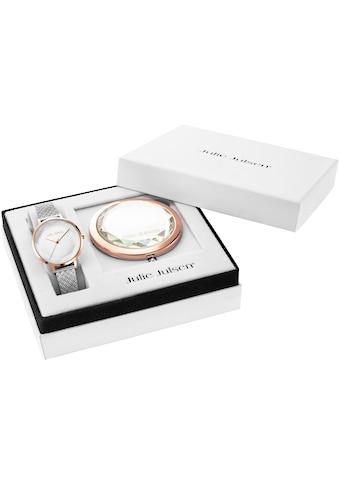 Julie Julsen Quarzuhr »Beauty Rosé Silver, JJW1176RGSME - SET« (Set, 2 tlg., Geschenkset  -  Uhr mit Spiegel) kaufen