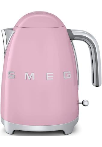 Smeg Wasserkocher, KLF03PKEU, 1,7 Liter, 2400 Watt kaufen