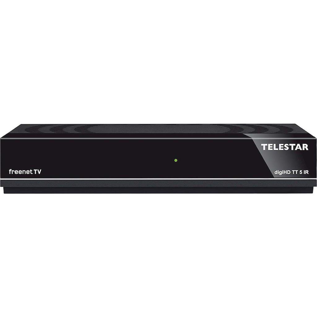 TELESTAR DVB-T2 HD Receiver »digiHD TT 5 IR«, mit freenet TV für 12 Monate