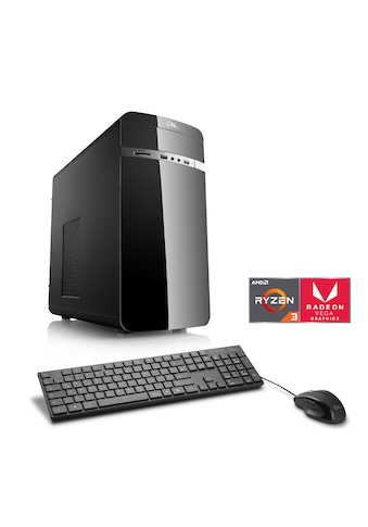 CSL Multimedia PC | AMD Ryzen 3 2200G | Vega 8 | SSD | 8 GB DDR4 »Sprint T8887 Windows 10 Home« kaufen