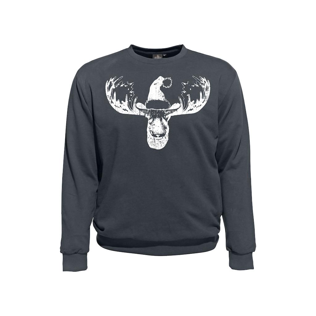 AHORN SPORTSWEAR Sweatshirt mit Rundhals-Ausschnitt