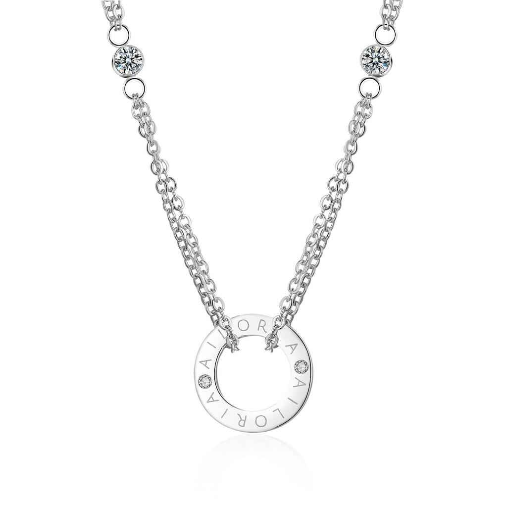 AILORIA Kette mit Anhänger »APOLLINE Halskette Silber«, Hochglanz-Finish