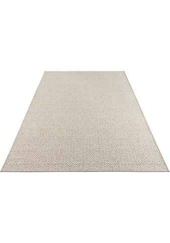 ELLE DECORATION Teppich »Croix«, rechteckig, 6 mm Höhe, In- und Outdoor geeignet,... kaufen