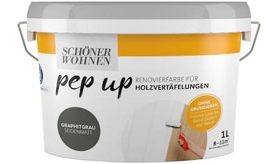 SCHÖNER WOHNEN-Kollektion Lack »pep up - graphitgrau«, für Holzvertäfelungen kaufen
