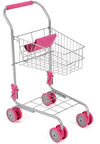 CHIC2000 Spiel-Einkaufswagen »Pink«, mit Puppensitz kaufen