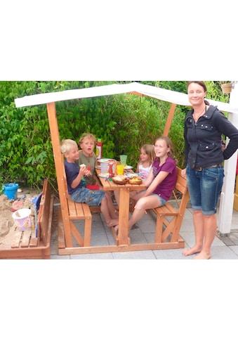 PROMADINO Pavillon »Anna«, für Kinder, BxLxH: 119x208x166 cm kaufen