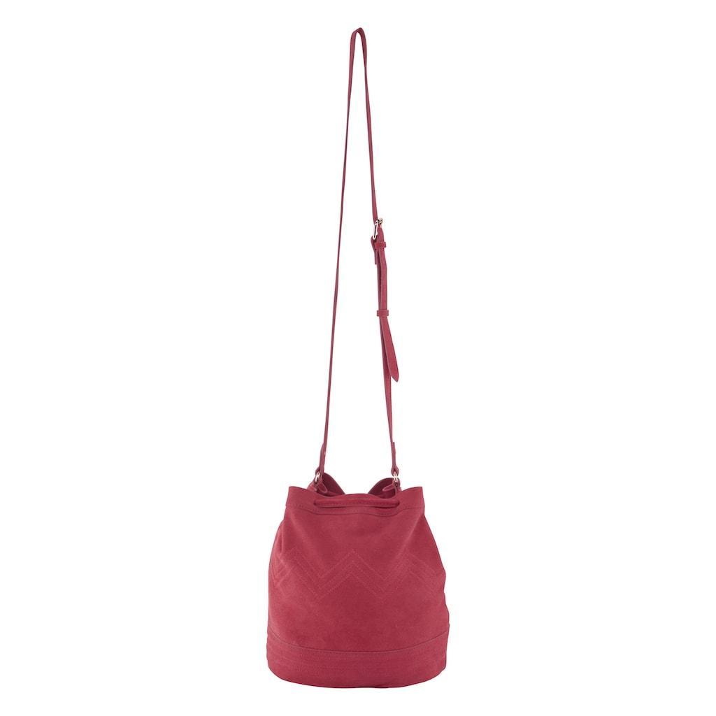 Tasche mit Zierstickerei