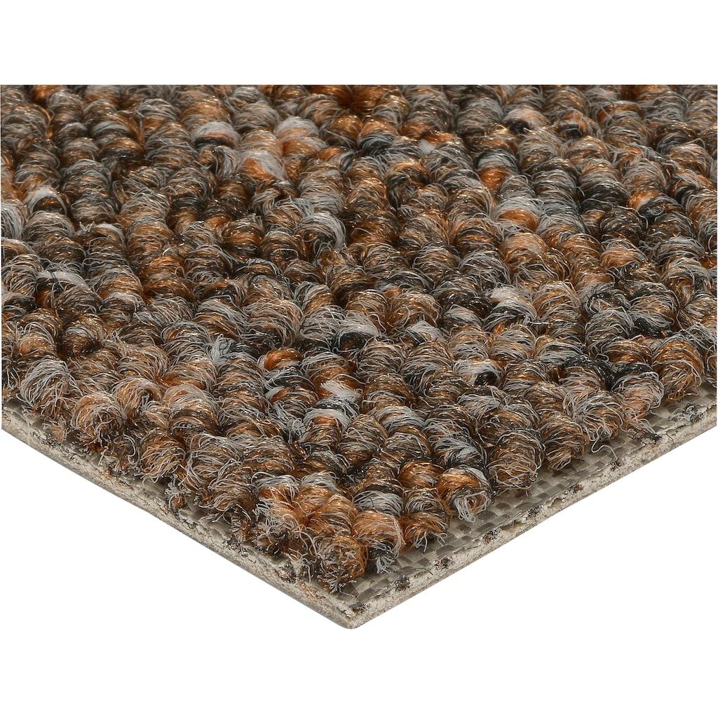 Bodenmeister Teppichboden »Schlinge gemustert«, rechteckig, 6 mm Höhe, Meterware, Breite 400 cm, Wunschmaßlänge