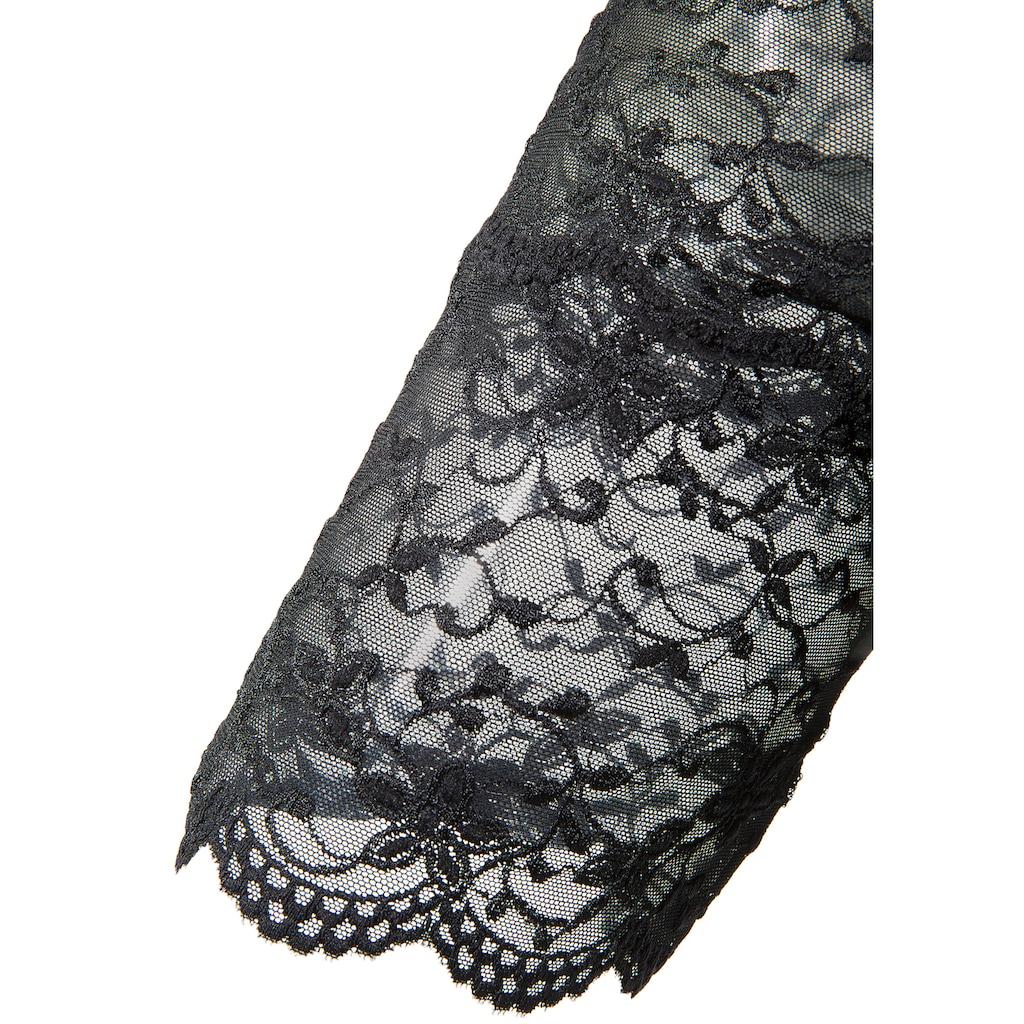Nina von C. Dirndlbluse mit verstellbarem Bindeband